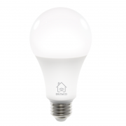 DELTACO Deltaco Smart Home LED-lampe E27, WiFI Dimmbar 2700K-6500K - Hvit