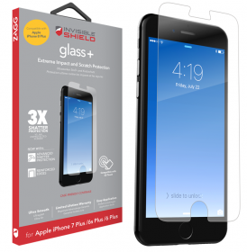 Zagg InvisibleShield Glass Plus til iPhone 6/6s/7/8 Plus