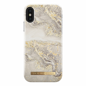 iDeal of Sweden iDeal Fashion Case for iPhone X-XS - Sparkle Greige Marble