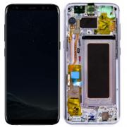 Samsung Galaxy S8 Skjerm med LCD-display - Fiolett - Original