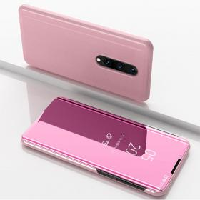 Taltech View Window Etui for OnePlus 8 - Rose Gull