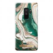 iDeal of Sweden iDeal Fashion Case for Samsung Galaxy S9 Plus - Golden Jade Marble