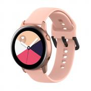 Taltech Silikonarmbånd for Samsung Galaxy Watch Active - Rosa