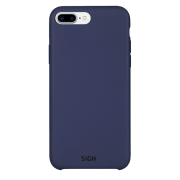 SiGN SiGN Liquid Silicone Case for iPhone 7 & 8 Plus - Blå