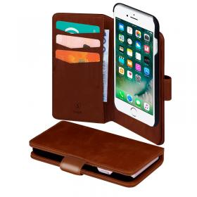 SiGN SiGN Lommeboketui 2-in-1 for iPhone 6-6S-7-8 Plus - Brun