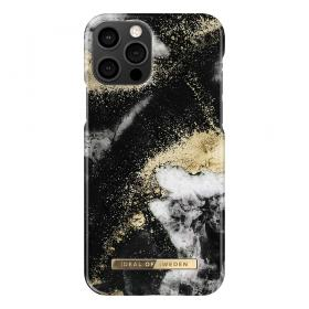 iDeal of Sweden IDeal Fashion iPhone 12/12 Pro deksel- Black Galaxy Marble
