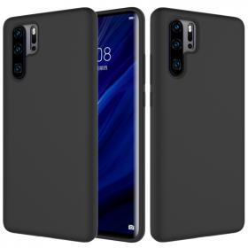 SiGN SiGN Liquid Silicone Deksel for Huawei P30 Pro - Svart