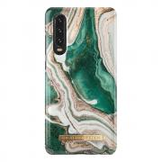 iDeal of Sweden iDeal Fashion Case for Huawei P30 - Golden Jade Marble
