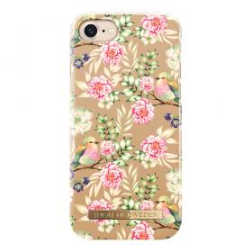 IDEAL FASHION CASE IPHONE 6/6S/7/8 CHAMPAGNE BIRDS