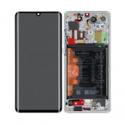 huawei Huawei P30 Pro LCD-Skjerm New Edition - Silver Frost