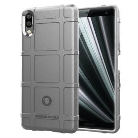 Taltech Rugged Square Grid Deksel for Sony Xperia L3 - Grå