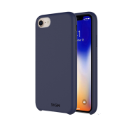 SiGN SiGN Liquid Silicone Case for iPhone 7 & 8 - Blå