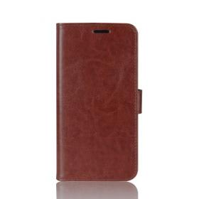 Taltech Crazy Horse Lommeboketui for Samsung Galaxy Note 10 Plus - Brun