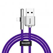 Baseus Baseus Vinklet Lightning Kabel for Mobilspill til iPhone - Lilla