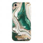 iDeal Fashion Case for iPhone 6/6S/7/8 - Golden Jade Marble