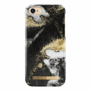 iDeal of Sweden iDeal Fashion Case for iPhone 6-6S-7-8 - Black Gaxlaxy Marble