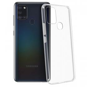 SiGN SiGN Ultra Slim Deksel for Samsung Galaxy A21s - Transparent