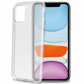 Celly Celly Gelskin Deksel for iPhone 11 - Transparent