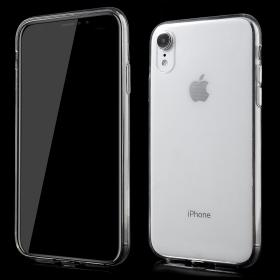 Taltech Crystal Clear Transparent Deksel for iPhone XR