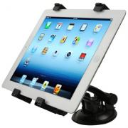 Taltech Nettbrett & iPad Holder for Bil - Svart