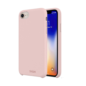 SiGN SiGN Liquid Silicone Case for iPhone 7 & 8 - Rosa
