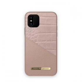 iDeal of Sweden iDeal Fashion Deksel for iPhone X/XS/11 Pro - Rose Smoke Croco