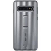 Samsung Samsung Protective Standing Cover for Samsung Galaxy S10 - Sølv