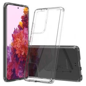 Taltech Crystal Clear Deksel for Samsung Galaxy S21 Ultra - Transparent
