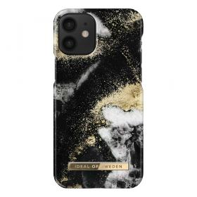 iDeal of Sweden IDeal Fashion iPhone 12 Mini deksel- Black Galaxy Marble