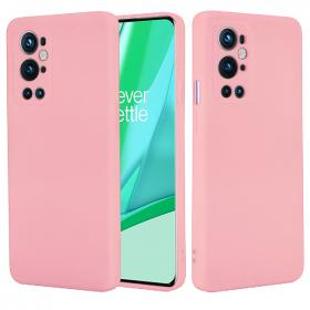 SiGN SiGN Liquid Silicone Deksel for OnePlus 9 Pro - Rosa