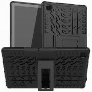 "Taltech Anti-slip Deksel for Galaxy Tab A7 10.4"" 2020 - Svart"