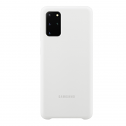 Samsung Samsung Silicone Cover for Samsung Galaxy S20 Plus - Hvit