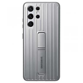 Samsung Samsung Protective Standing Cover for Galaxy S21 Ultra 5G - Grå (OUTLET-VARE)