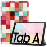 "Taltech Etui for Galaxy Tab A7 10.4"" 2020 - Color Plaid"