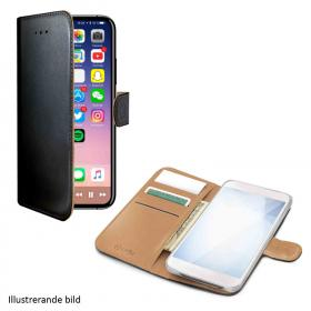 Celly Celly Wallet Case iPhone X Svart