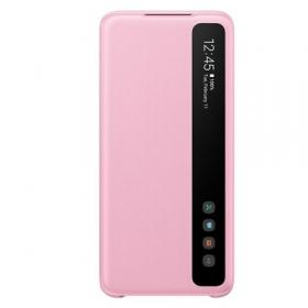 Samsung Samsung Clear View Cover for Samsung Galaxy S20 - Rosa (OUTLET-VARE)