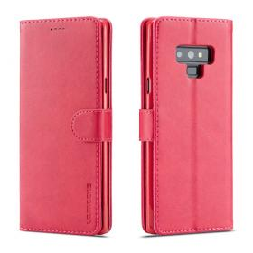 Taltech LC.IMEEKE Lommeboketui for Samsung Galaxy Note 9 - Rosa