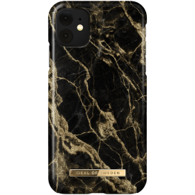 iDeal of Sweden iDeal Fashion Deksel for iPhone XR/11 - Golden Smoke Marble