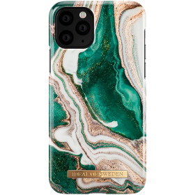 iDeal of Sweden iDeal Fashion Deksel for iPhone 11 Pro - Golden Jade Marble