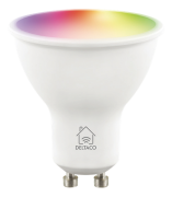 DELTACO Deltaco Smart Home RGB LED-lampe GU10, WiFI Dimmbar