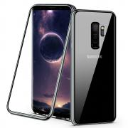 Deksel i herdet glass for Samsung Galaxy S9 Plus - Svart