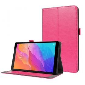 Taltech Crazy Horse Etui for Huawei MatePad T8 - Rosa