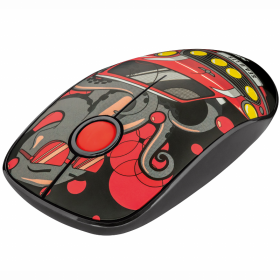Trust Trust Sketch Wireless Mouse, Silent - Red