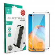 SiGN SiGN Heldekkende Skjermbeskytter i Herdet Glass for Huawei P40 Pro