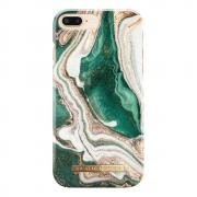 iDeal Fashion Case for iPhone 6/6S/7/8 Plus - Golden Jade Marble