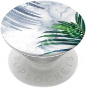 PopSockets Richmond & Finch x PopSockets Mobilholder - White Marble Tropics