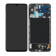 Samsung Samsung Galaxy A70 Skjerm LCD-display - Original - Svart