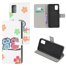 Taltech Lommeboketui for Samsung Galaxy A02s - Two Owls