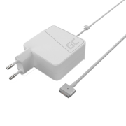 Greencell Macbook Air Lader 45W, MagSafe 3.1A – Hvit