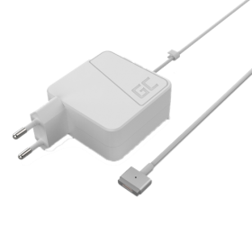 Green Cell Green Cell Macbook Air Lader 45W, MagSafe 3.1A – Hvit